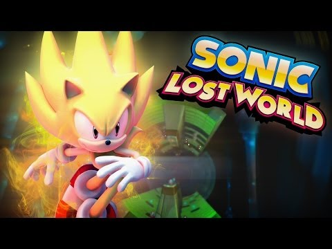 Sonic Lost World - Windy Hill - Zone 3 - Super Sonic Gameplay (HD)