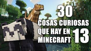 30 cosas curiosas que hay en Minecraft! - Parte 13