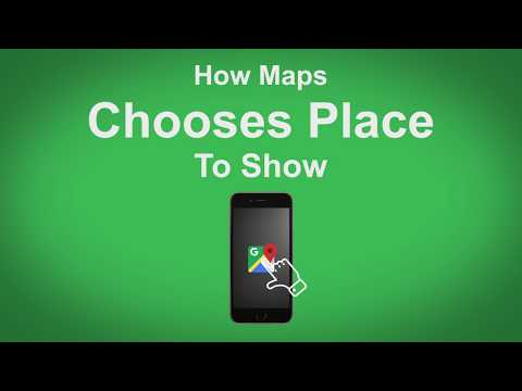 Google Maps   How Maps Choose Places to Show