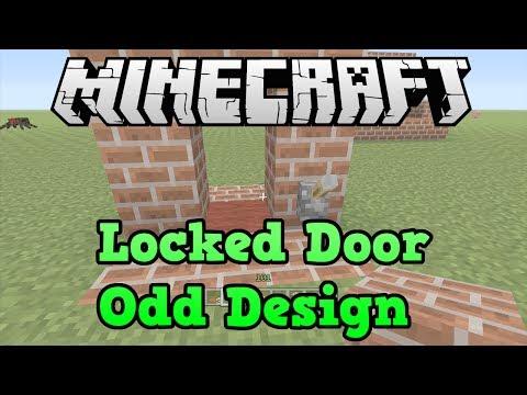 Minecraft Xbox 360 + PS3: Best Locked Door Design (no door?)