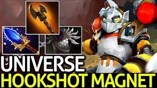 Universe [Clockwerk] Auto Hookshot Magnet 7 15 Dota 2 - getplaypk