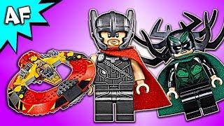 Lego Marvel Thor Ragnarok ULTIMATE BATTLE for ASGARD 76084 Speed Build