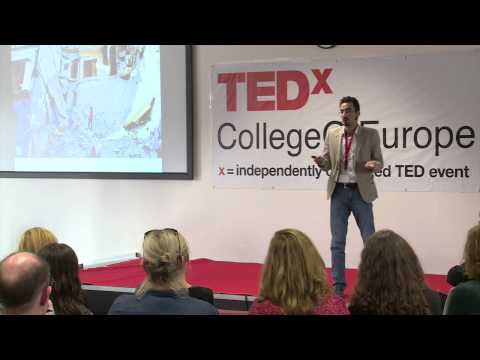 A personal story of the Syrian conflict | Riad | TEDxCollegeOfEurope