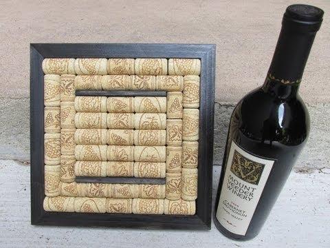 How to Make a Wine Cork Trivet Craft Tutorial