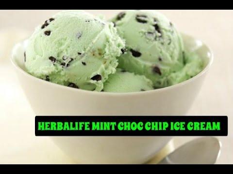 HERBALIFE MINT CHOC CHIP ICE CREAM
