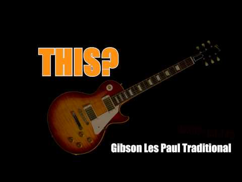 Tribut's Gibson Les Paul Traditional Guitar Giveaway