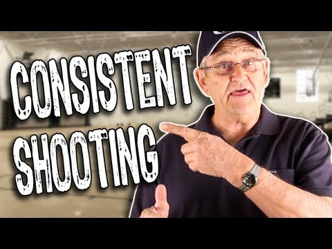 HOW TO SHOOT A BASKETBALL CONSISTENTLY! -- Shot Science Basketball
