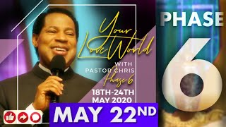 Pastor Chris LIVE:: Your LoveWorld PHASE 6 DAY 5