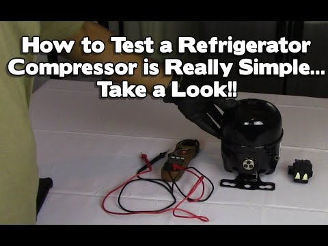 Refrigerator Repair - Not Cooling or Freezing? How to Test a Compressor... LG, Samsung, Maytag