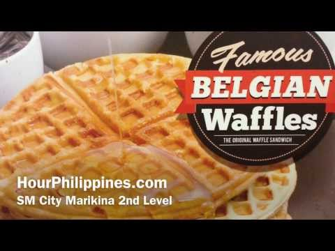 Famous Belgian Waffles SM City Marikina by HourPhilippines.com
