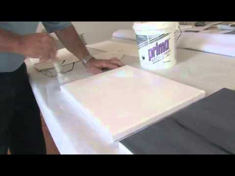 How to Prepare Canvas for Acrylic Paint