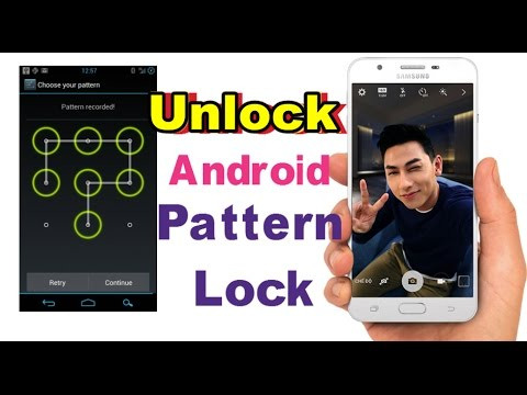 How To Unlock Smart Phone Pattern Or Password & Reset Pattern Lock
