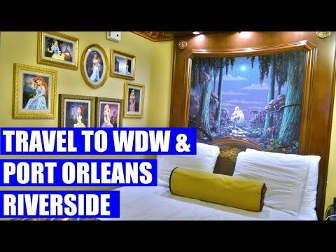 TRAVEL TO WDW & PORT ORLEANS RIVERSIDE | Walt Disney World Vacation Sept/Oct 2016 Day 1, Part 1