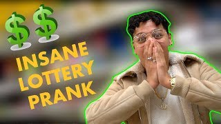 THE CRAZY LOTTERY PRANK ON MY BROTHER!