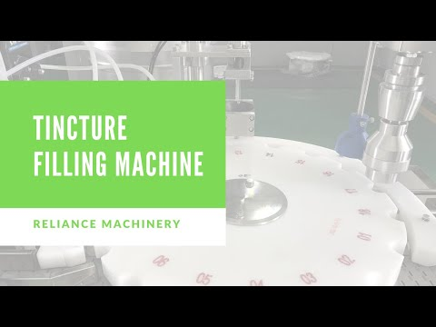 101 ) Cannabis Tincture Dropper Bottle Filling Machine |  Reliance Machinery