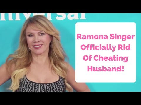 Ramona Singer Officially Rid Of Cheating Ex Mario Singer!