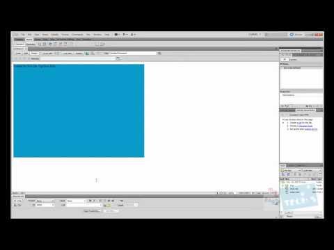 Dreamweaver CS5 - CSS Tutorial: Inline CSS