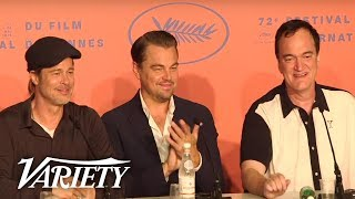 Download 'Once Upon A Time In Hollywood' Press Conference - Cannes Film Festival Video
