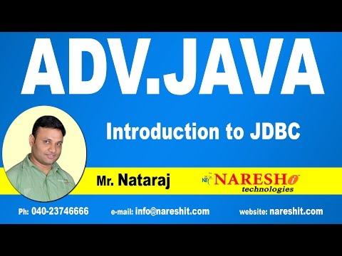 Introduction to JDBC | Advanced Java Tutorial | Mr. Nataraj