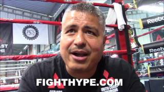 ROBERT GARCIA GIVES CONOR MCGREGOR TRAINING ADVICE FOR MAYWEATHER; REACTS TO MALIGNAGGI SPARRING HIM