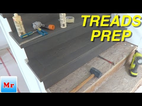 Hardwood Stairs Tips and Tricks for Stairs Treads Installation MrYoucandoityourself