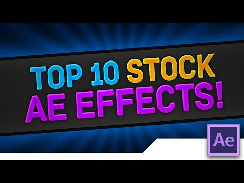 [TUTORIAL]  TOP 10 Underused INTRO Effects, Presets and Styles in Adobe After Effects