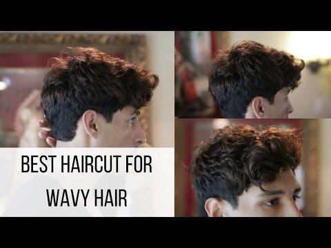Modern Wavy Hair | Thick Hair and Clean Sides