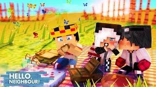 Minecraft HELLO NEIGHBOR - PIQUENIQUE DO AMOR ♥♥ | EP 24