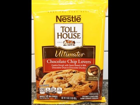 Ashley Bakes Nestle Toll House Ultimates Chocolate Chip Lovers Cookies