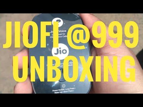 Jiofi Rs999 unboxing Hindi