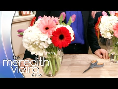 How To Make Flowers Look Good! | The Meredith Vieira Show
