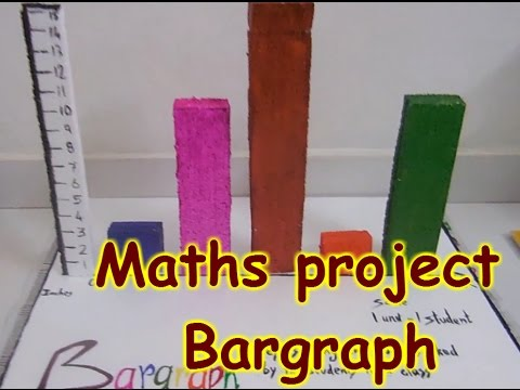 DIY project for students - Maths project - Bargraph