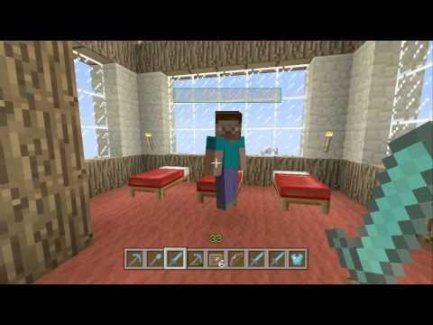 New Duplication Glitch Tutorial! Dupe Enchanted items! xbox 360 Edition Minecraft