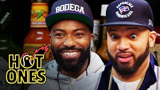 Download Desus and Mero Get Smacked By Spicy Wings | Hot Ones Video