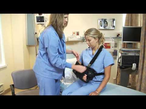 Post-Operative Shoulder Sling: Abductor Pillow, External Rotator