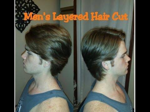 How To Cut Men's Layers ~ Medium/ Long Length Hair Cut