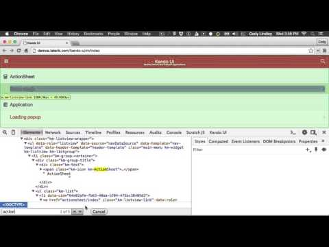 Searching the current html with Chrome DevTools