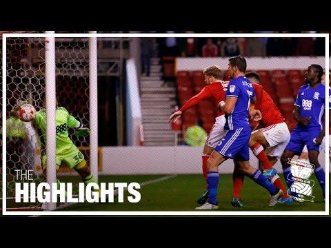 Nottingham Forest 3-1 Birmingham City | Championship Highlights 2016/17