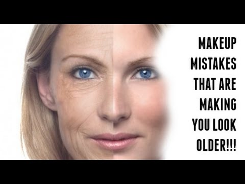 MAKEUP MISTAKES THAT MAKE YOU LOOK OLDER AGES YOU