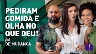 PEDIRAM COMIDA FORA E OLHA NO QUE DEU! Consultório Me Poupe! Feat De Mudança