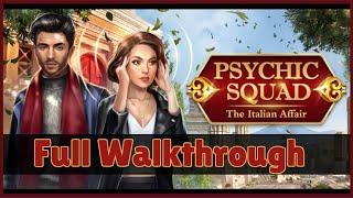 AE Mysteries: Psychic Squad The Italian Affair FULL Walkthrough [HaikuGames]