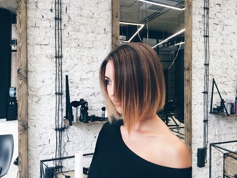how to cut textured bob