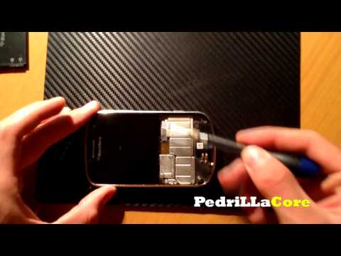 HOW To Disassembly BlackBerry Bold 9900