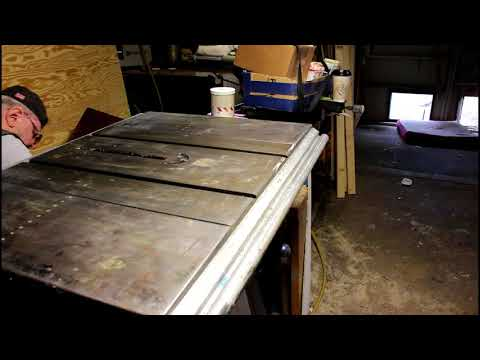 Cleaning the table saw more BS about sail boats