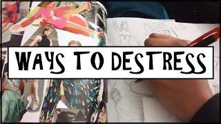 7 WAYS TO DE-STRESS