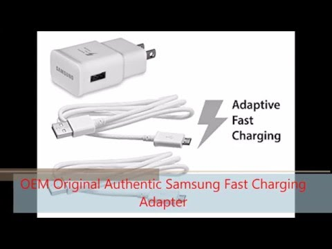 OEM Original Authentic Samsung Fast Charging Adapter