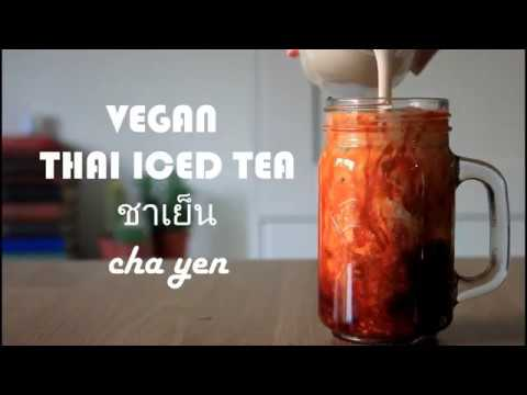 Vegan Thai Iced Tea | Eat Chay