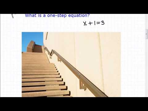 One Step Equations (Algebra Basics You Need To Understand)