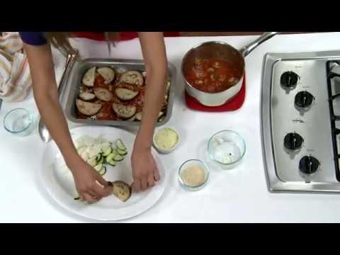 Eggplant, Cheese & Tomato Bake