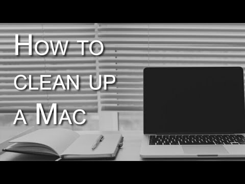 How to cleanup mac startup disk